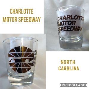 Vintage Charlotte Motor Speedway Shot Glass
